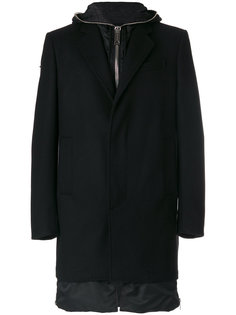классическое приталенное пальто Les Hommes