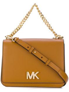 маленькая сумка с бляшкой с логотипом Michael Michael Kors