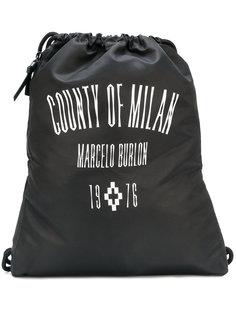 рюкзак Jak Gym с застежкой на шнурке Marcelo Burlon County Of Milan