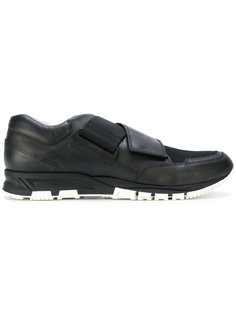 кроссовки на липучках Lanvin