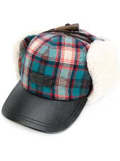 охотничья шапка в клетку Dsquared2