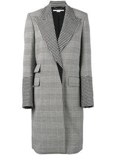 пальто Odelia с узором в клетку Stella McCartney