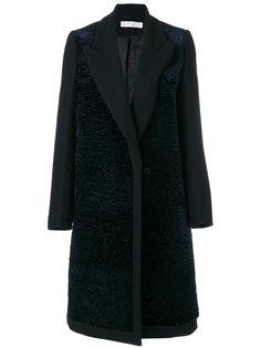 однобортное пальто Victoria Victoria Beckham