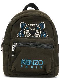 полотняный мини-рюкзак с изображением тигра Kenzo