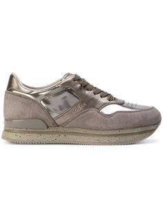 кроссовки Chaussure на шнуровке Hogan