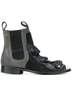 ботинки с бантами Comme Des Garçons