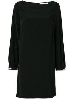 платье с заклепками на манжетах Gianluca Capannolo
