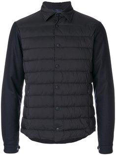 пальто со стегаными панелями Herno
