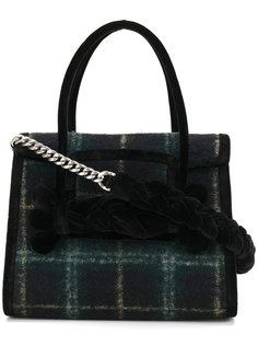 клетчатая сумка Miu Miu