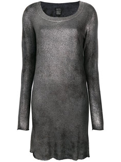 металлизированное платье по фигуре Avant Toi