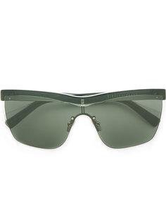 солнцезащитные очки в прозрачной оправе Dion Lee