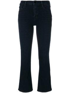 укороченные слегка расклешенные джинсы Selena средней посадки J Brand