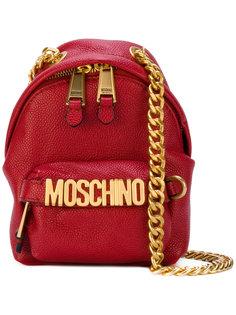 сумка на плечо в форме рюкзака Moschino