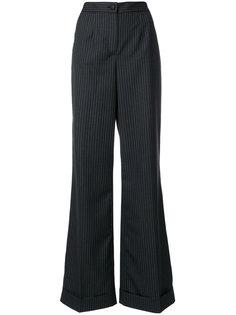 расклешенные брюки в полоску  Dolce & Gabbana