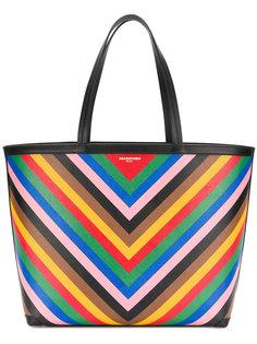 сумка-тоут с геометрическим рисунком Sara Battaglia