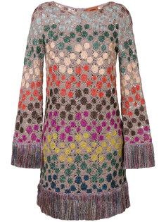 платье-джемпер с бахромой  Missoni