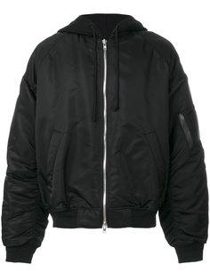 куртка-бомбер  свободного кроя Juun.J