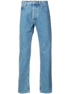 удлиненные джинсы средней посадки Loewe