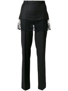 классические брюки с кружевной юбкой Givenchy
