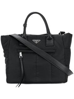 сумка-тоут на молнии Prada