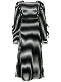 платье с длинными рукавами и завязкой  3.1 Phillip Lim