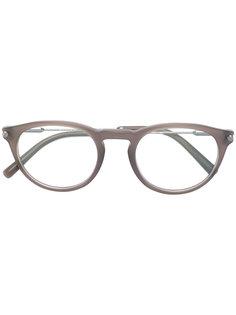 очки с круглой оправой Bulgari