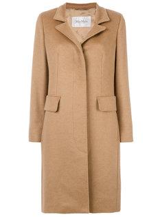 однобортное пальто Max Mara