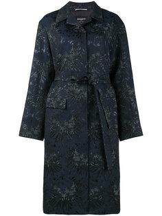 пальто с цветочным жаккардовым узором  Rochas