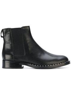 ботинки с отделкой заклепками Ash