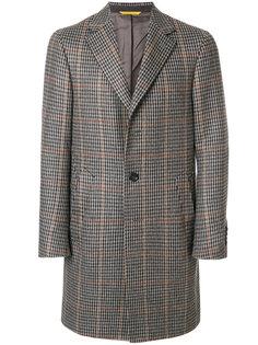 твидовое пальто Canali