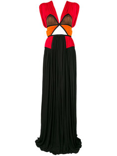"платье-шифт дизайна ""колор-блок"" Givenchy"