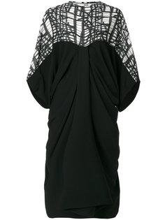 платье с драпировками Chalayan