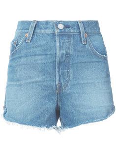 джинсовые шорты с завышенной талией Levis