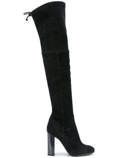 ботфорты на высоком каблуке Baldinini