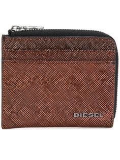 фактурный бумажник на молнии Diesel