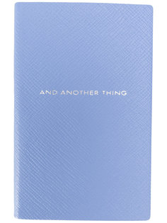 записная книжка And Another Thing Smythson