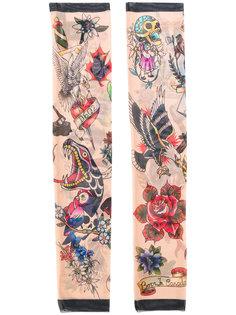 перчатки tattoo collection Dsquared2