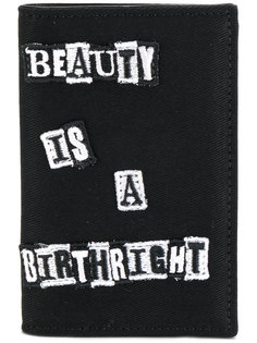 бумажник с вышивкой Valentino
