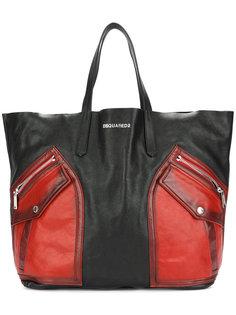 байкерская сумка-тоут Dsquared2