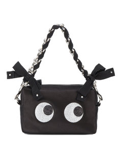 сумка-клатч Eyes с мелкими блестками Anya Hindmarch