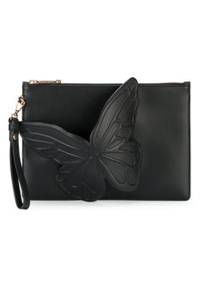 клатч с бабочками Sophia Webster