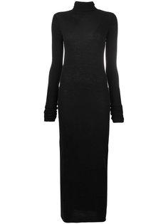 тонкое трикотажное платье Rick Owens Lilies