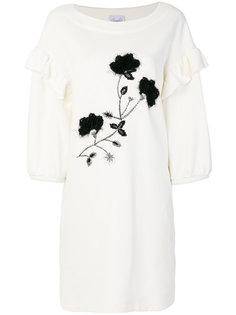 платье с оборкой  Si-Jay