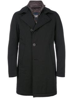 пальто с массивным воротником Herno