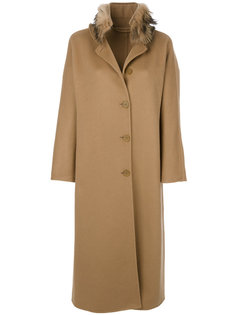 удлиненное однобортное пальто Ermanno Scervino