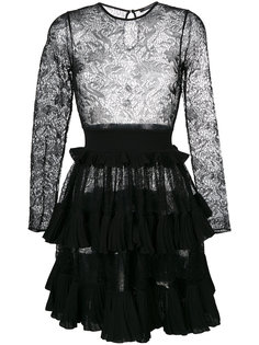 ажурное платье с расклешенной юбкой Antonino Valenti