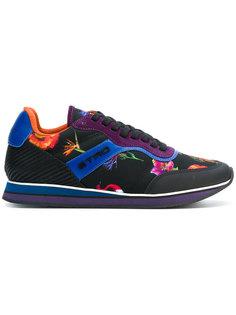 кроссовки с цветочным принтом Etro