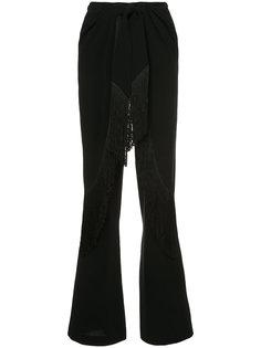 брюки с бахромой Cinq A Sept