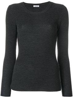 вязаный свитер с ребристой фактурой P.A.R.O.S.H.