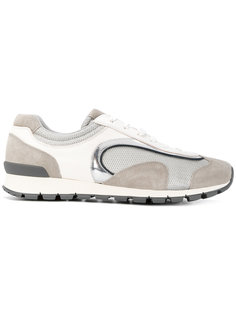 кроссовки с панельным дизайном Prada